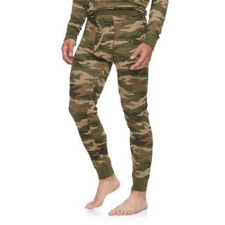 Big & Tall Croft & Barrow® Camo Thermal Pants
