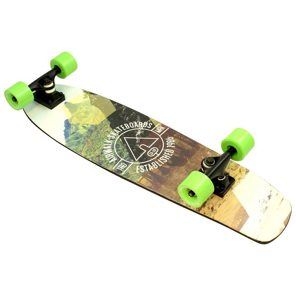 Airwalk 30-Inch Mountain ABEC-5 Complete Cruiser Skateboard