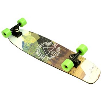 Airwalk 30-Inch Mountain ABEC-5 Complete Cruiser Skateboard