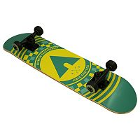 Airwalk 31-Inch Untamed Checker ABEC-3 Complete Skateboard