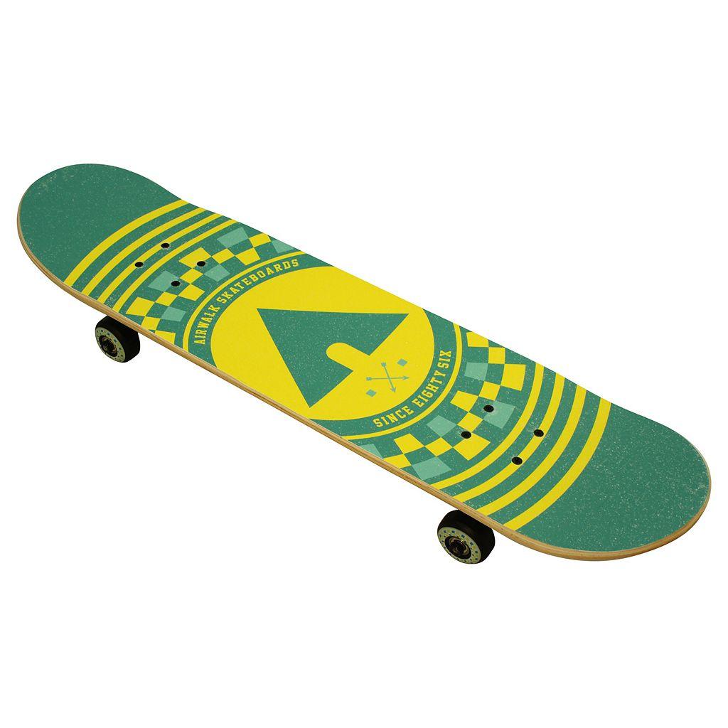 Airwalk 31-Inch Untamed Checker ABEC-3 Complete Skateboard