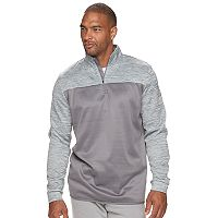 Big & Tall Tek Gear® WarmTek Athletic-Fit Performance Fleece Quarter-Zip Hoodie
