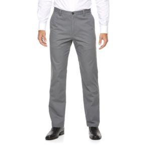 Big & Tall Croft & Barrow® Classic-Fit Essential Khaki Flat-Front Pants