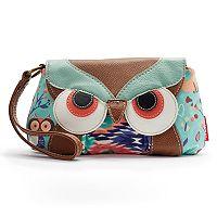 Unionbay Owl Wristlet