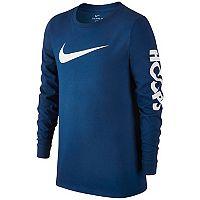 Boys 8-20 Nike Swoosh Hoops Tee