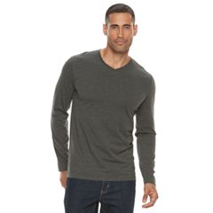 Men's Apt. 9® Premier Flex Solid V-neck Tee
