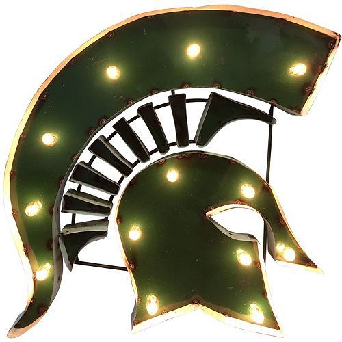Michigan State Spartans Light-Up Wall Décor