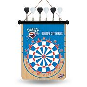 Oklahoma City Thunder Magnetic Dart Board