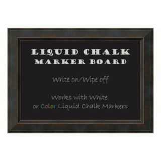 Amanti Art Signore Framed Liquid Chalkboard Wall Decor