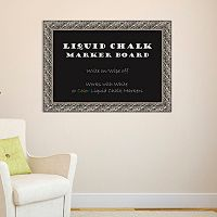 Amanti Art Luxor Framed Liquid Chalkboard Wall Decor
