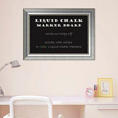 Amanti Art Vegas Framed Liquid Chalkboard Wall Decor