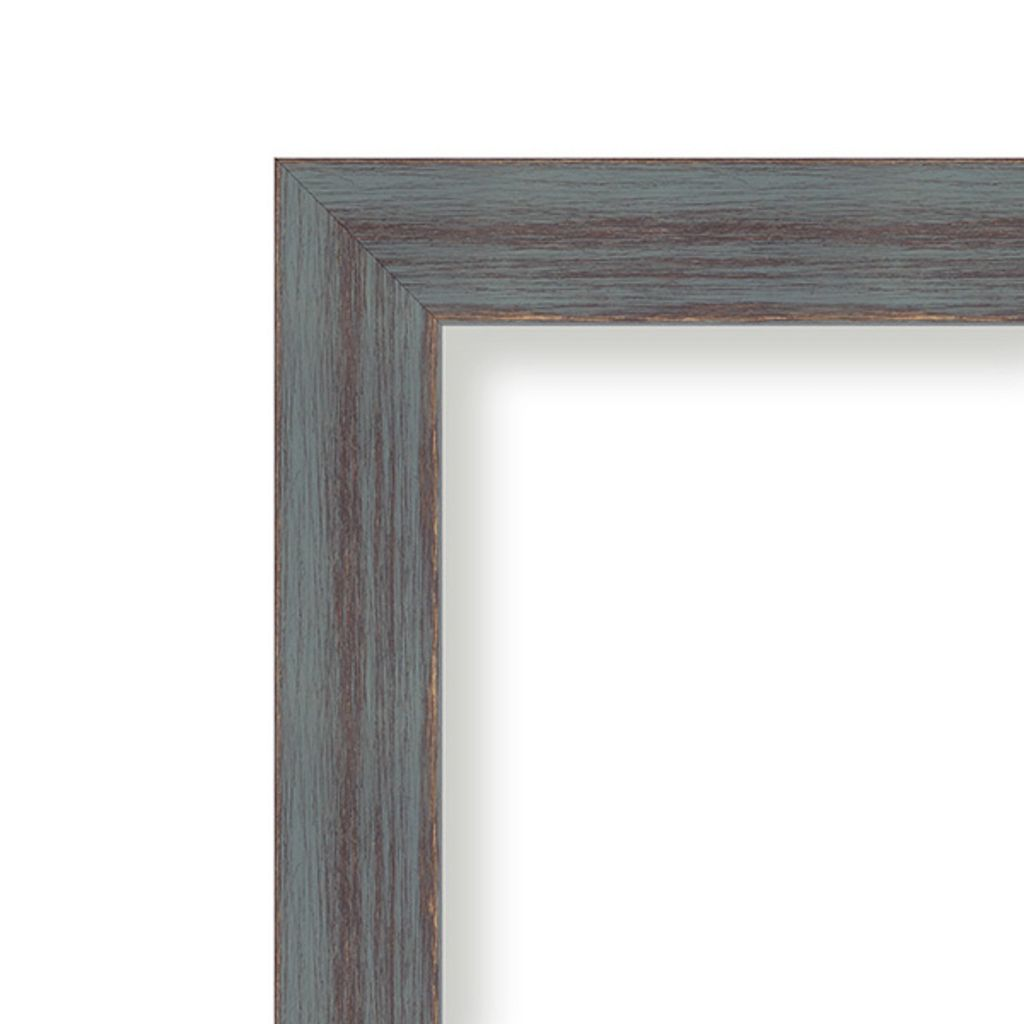 Amanti Art Dixie Gray Rustic Framed Liquid Chalkboard Wall Decor