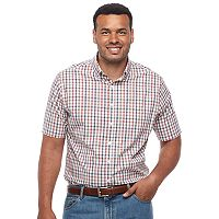 Big & Tall Croft & Barrow® True Comfort Regular-Fit Stretch Button-Down Shirt