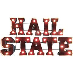Mississippi State Bulldogs Light-Up Wall Décor