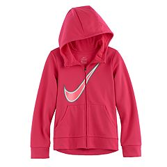 Girls 7-16 Nike Swoosh Zip-Up Hoodie