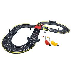 GB Pacific Battery-Operated Jumping Rally Road Racing Set