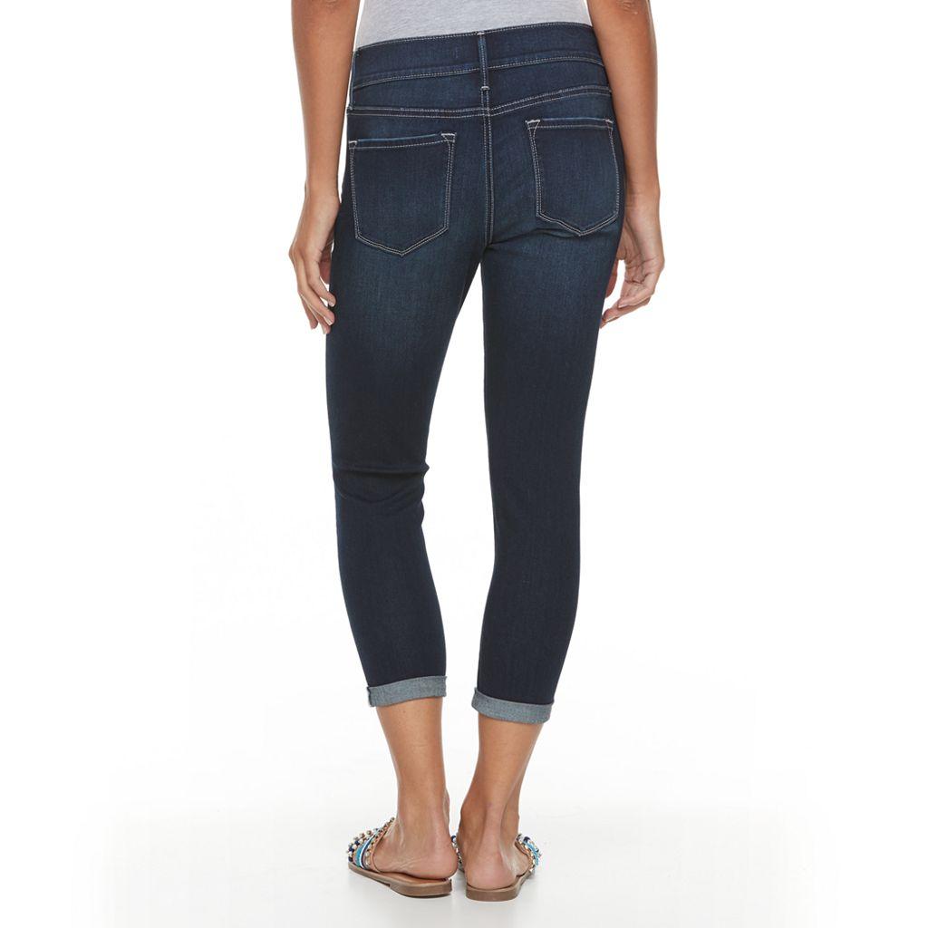 Petite Apt. 9® Modern Fit Skinny Capri Jeans