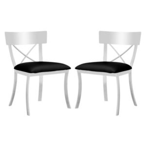 Safavieh Abby Dining Chair 2 Piece Set Dlh Designer