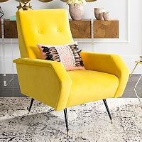 Safavieh Aida Velvet Accent Chair