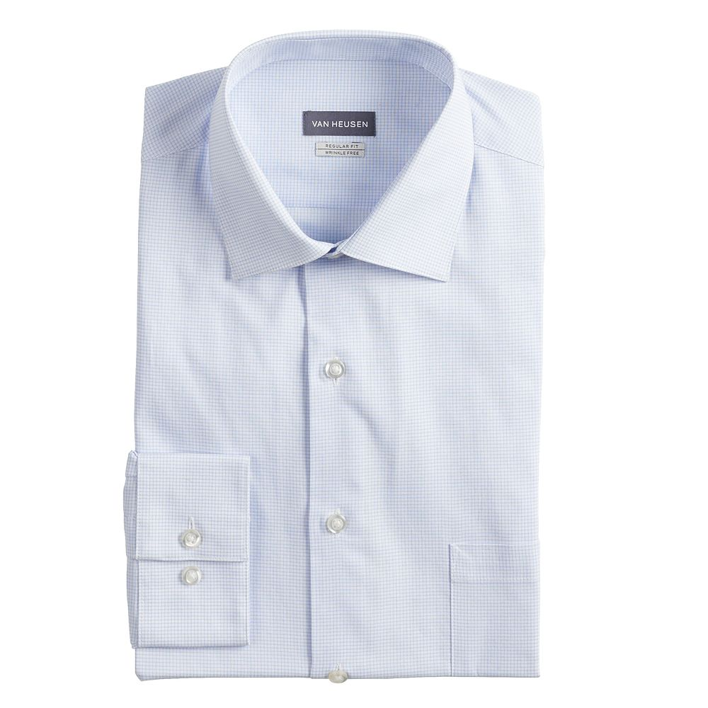 Men's Van Heusen Regular-Fit Wrinkle-Free Dress Shirt