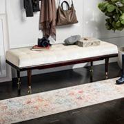 Safavieh Elita Velvet Bench