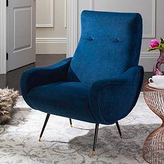 Safavieh Elicia Velvet Accent Chair