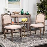 Safavieh Eloise Dining Chair 2-piece Set