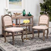 Safavieh Eloise Dining Chair 2 pc Set