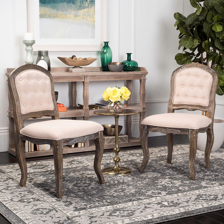 Safavieh Eloise Dining Chair 2 Piece Set