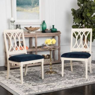 Safavieh Selena Velvet Dining Chair 2-piece Set