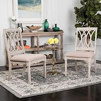Safavieh Selena Velvet Dining Chair 2 pc Set