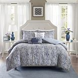 Harbor House 5-piece Stella 300 Thread Count Duvet Cover Set