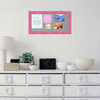 Amanti Art Rustic Framed Magnetic Bulletin Board Wall Decor