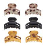 Mudd® Round Claw Hair Clip Set