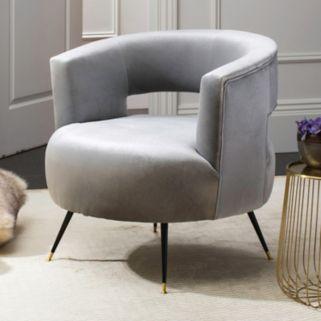 Safavieh Manet Velvet Accent Chair