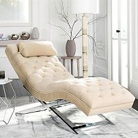 Safavieh Monroe Chaise Lounge Chair & Pillow 2-piece Set