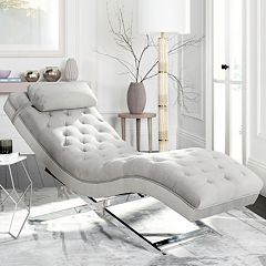 Safavieh Monroe Chaise Lounge Chair & Headrest Pillow 2 pc Set