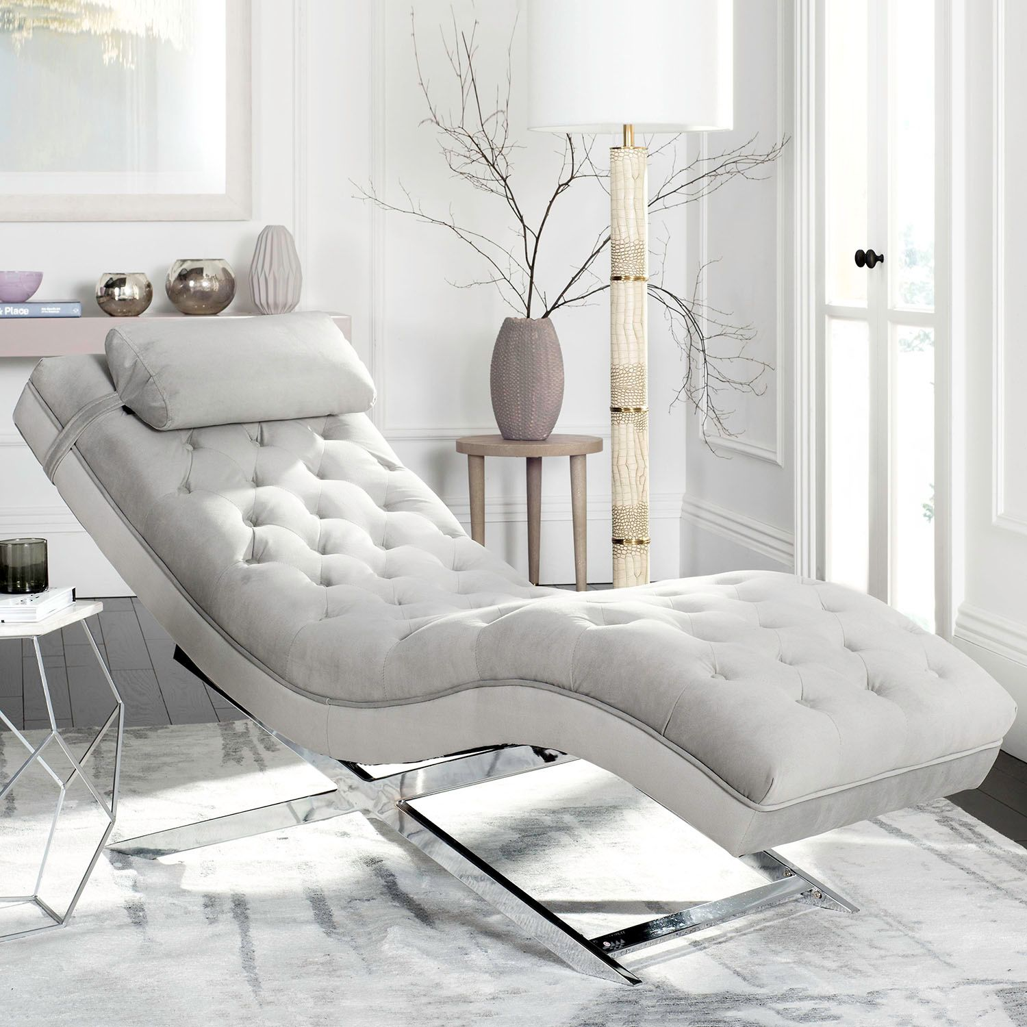 Safavieh Monroe Chaise Lounge Chair u0026 Pillow 2-piece Set : kohls chaise lounge - Sectionals, Sofas & Couches