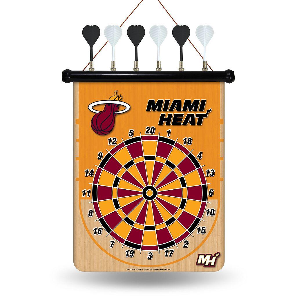 Miami Heat Magnetic Dart Board