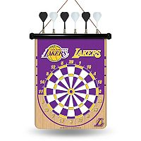 Los Angeles Lakers Magnetic Dart Board