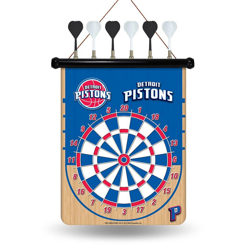 Detroit Pistons Magnetic Dart Board