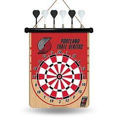 Portland Trail Blazers Magnetic Dart Board