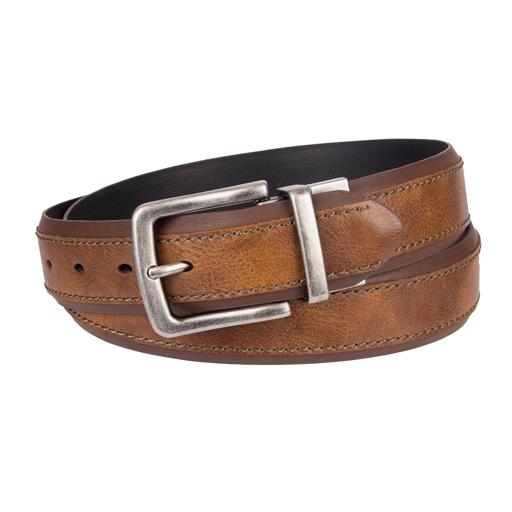 Men's SONOMA Goods for Life™ Feather-Edge Reversible Belt