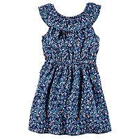 Toddler Girl Carter's Smocked Floral Dress
