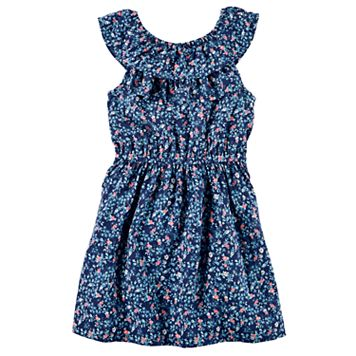Toddler Girl Carter's Smocked Floral Dress