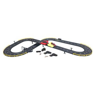 GB Pacific Electric Power Stunt Jump Road Racing Set