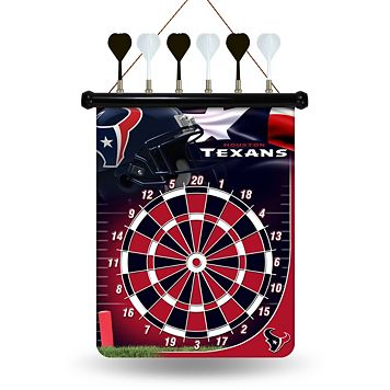 Houston Texans Magnetic Dart Board