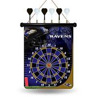 Baltimore Ravens Magnetic Dart Board