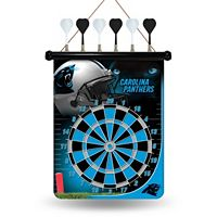 Carolina Panthers Magnetic Dart Board