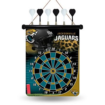 Jacksonville Jaguars Magnetic Dart Board